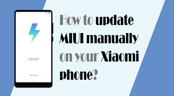 Manually update MIUI