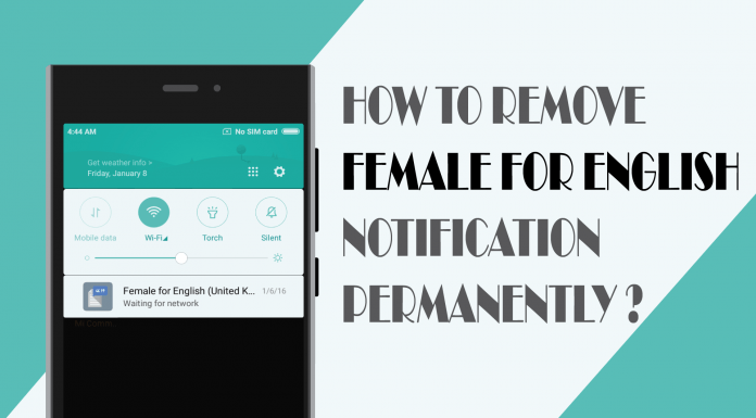Thumbnail Female for English Notification