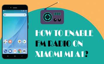 Enable FM Radio on Xiaomi Mi A1
