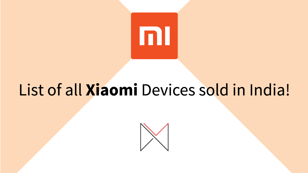 xiaomi company device list