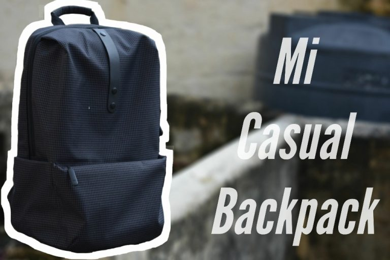 Mi Casual Backpack review: A Minimal Backpack for Commuters