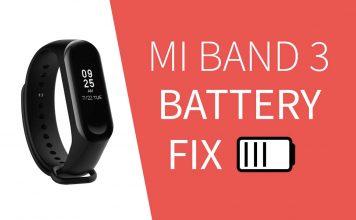 miband3 battery fix