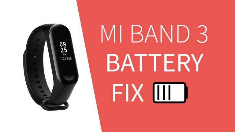 How to increase battery life of Mi Band 3?