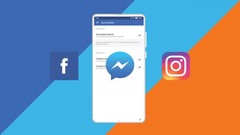 How to stop auto-updates on Facebook, Messenger & Instagram app on Android?