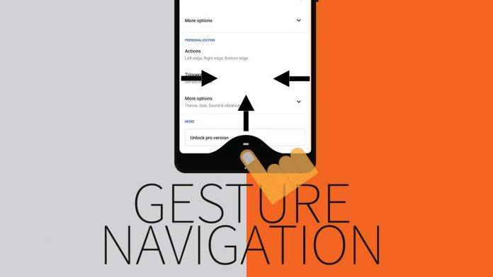 gesture navigation android