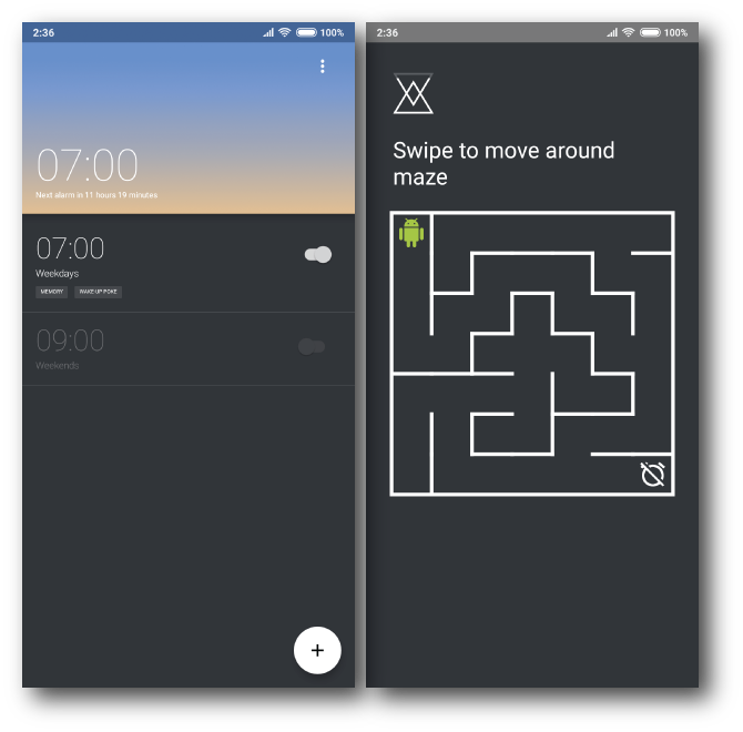 puzzle alarm apps android 4