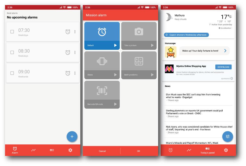 puzzle alarm apps android 5