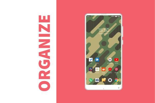 declutter smartphone 5
