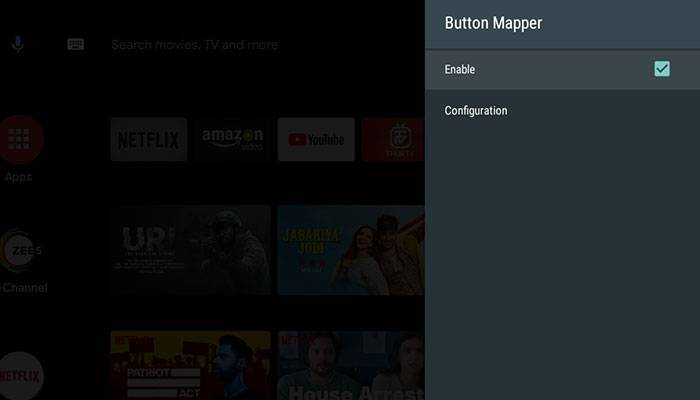 Enable Button Mapper Accessibility