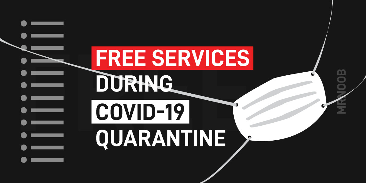 free services covid 19 quarantine