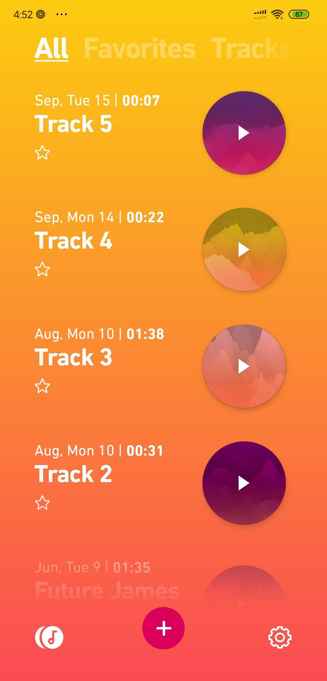track list in dolby on Remove Background Noise From Video in Android