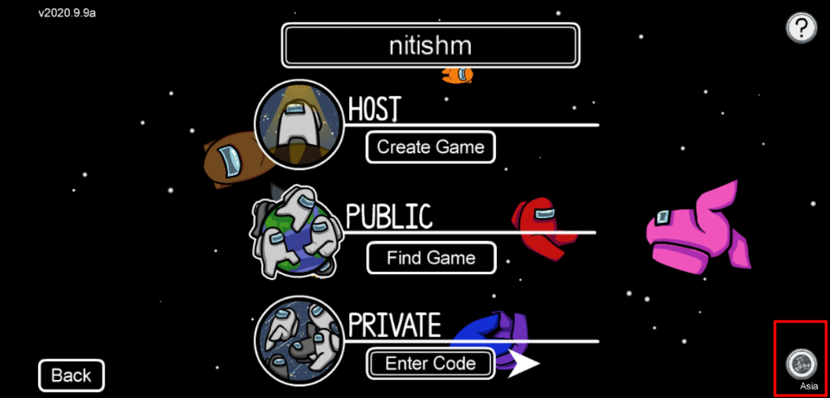 change server near your location mrnoob