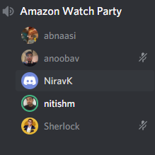 Use discord to communicate between people