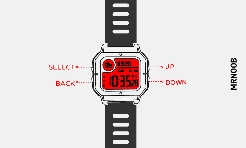 How to pair and connect Amazfit Neo Smartwatch with your Android and  iPhone? - MrNoob
