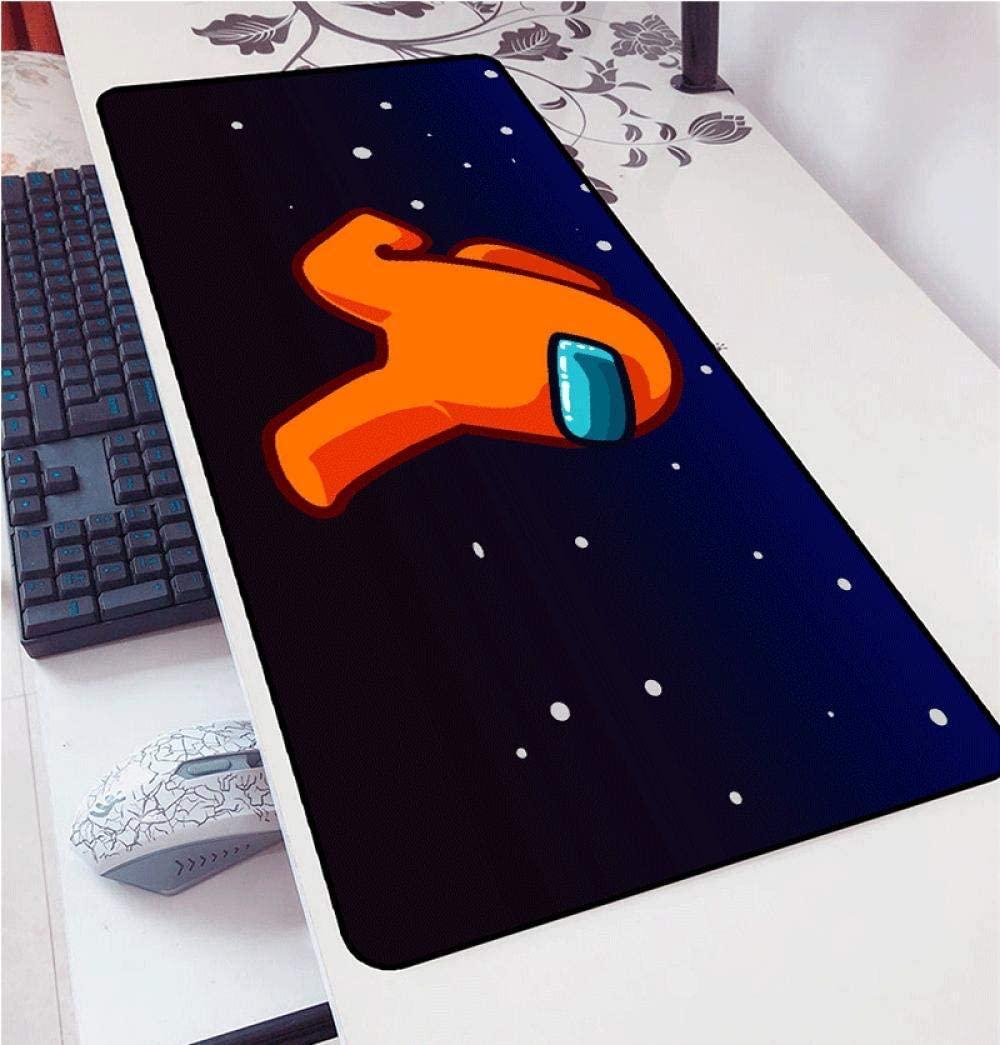 among us themed mouse pad mat mrnoob