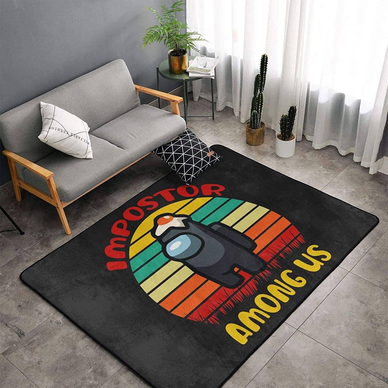 among us themed rug