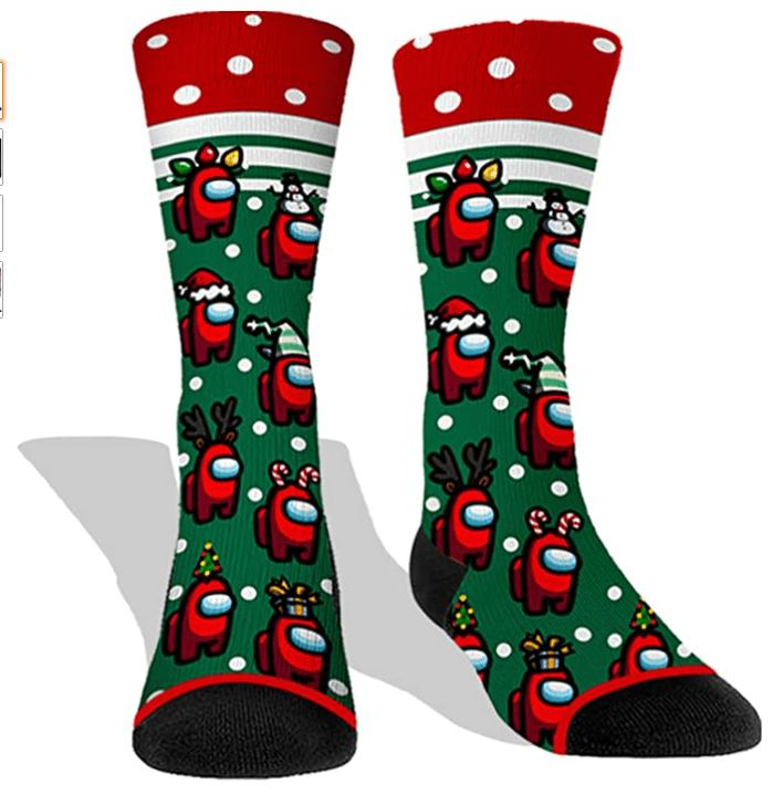 among us themed socks