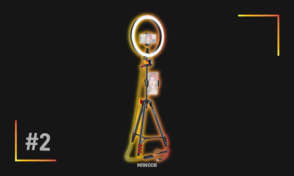 Neewer 10 inch LED Ring Light Selfie Ring Light