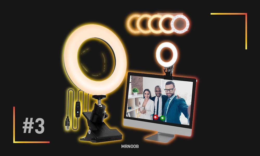 SICCOO Selfie Ring Light