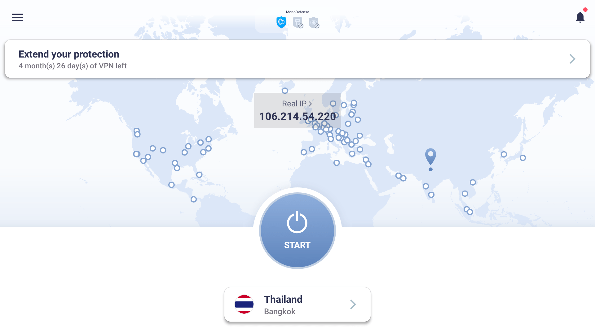 connect to thailand server