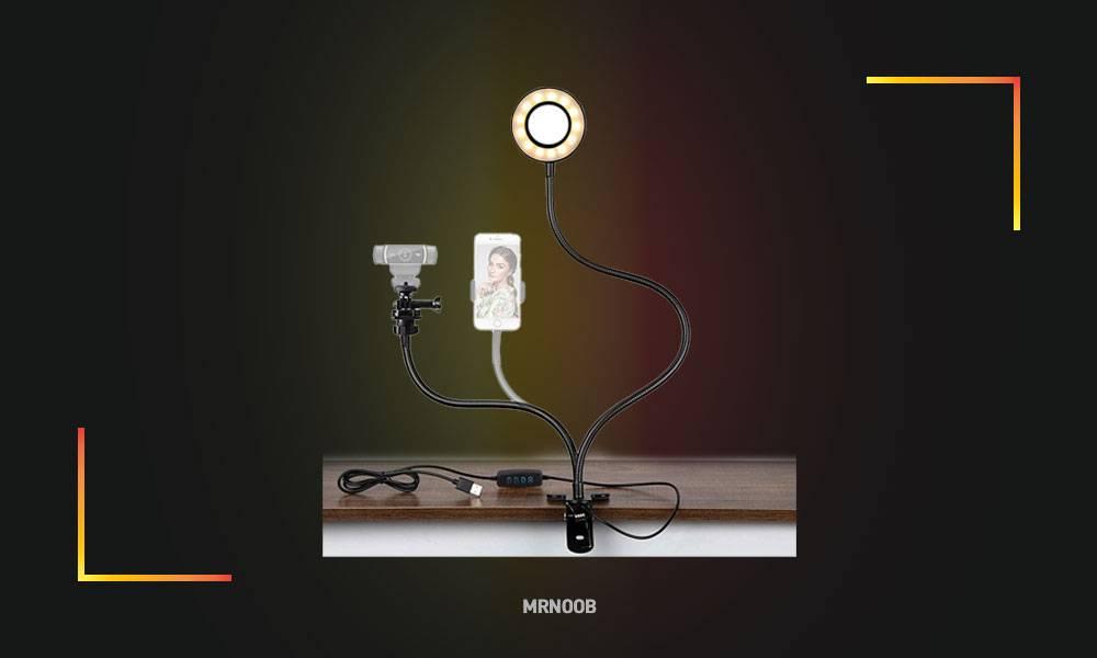 Amada Webcam Light Stand for Live Stream