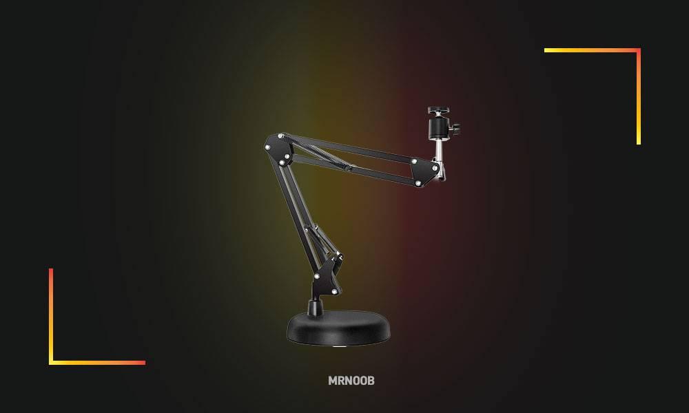 LESYAFEL Webcam Stand for Desktop Suspension Boom Scissor Arm Stand