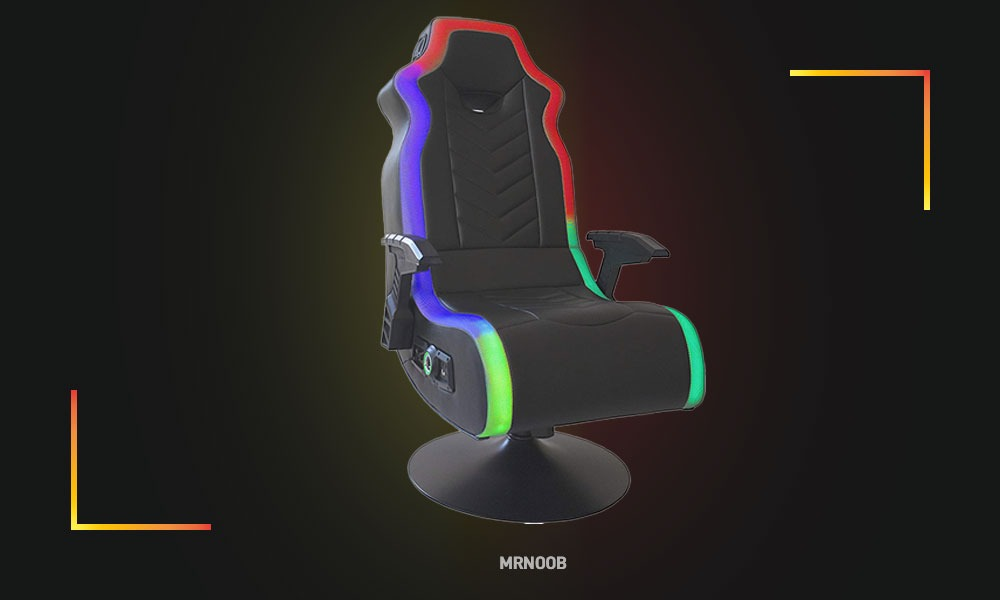 X rocker RGB prism chair best gaming chair with speaker and vibration
