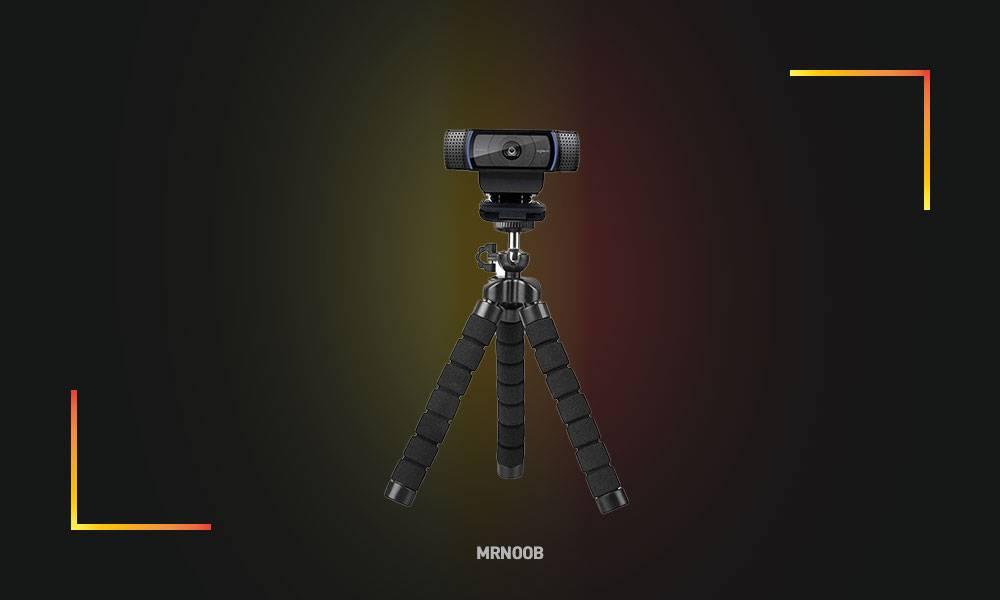 mini flexible webcam stand