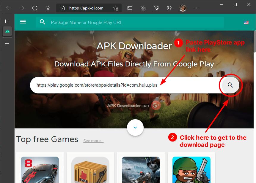 apk downloader website mrnoob