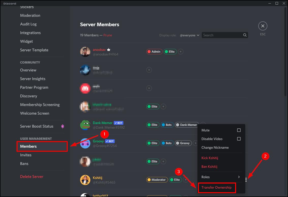 transfer discord ownership desktop mrnoob