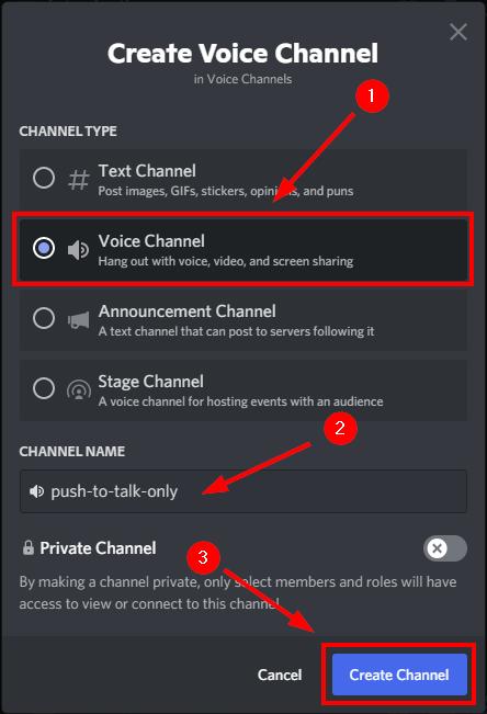 create ptt channel discord mrnoob