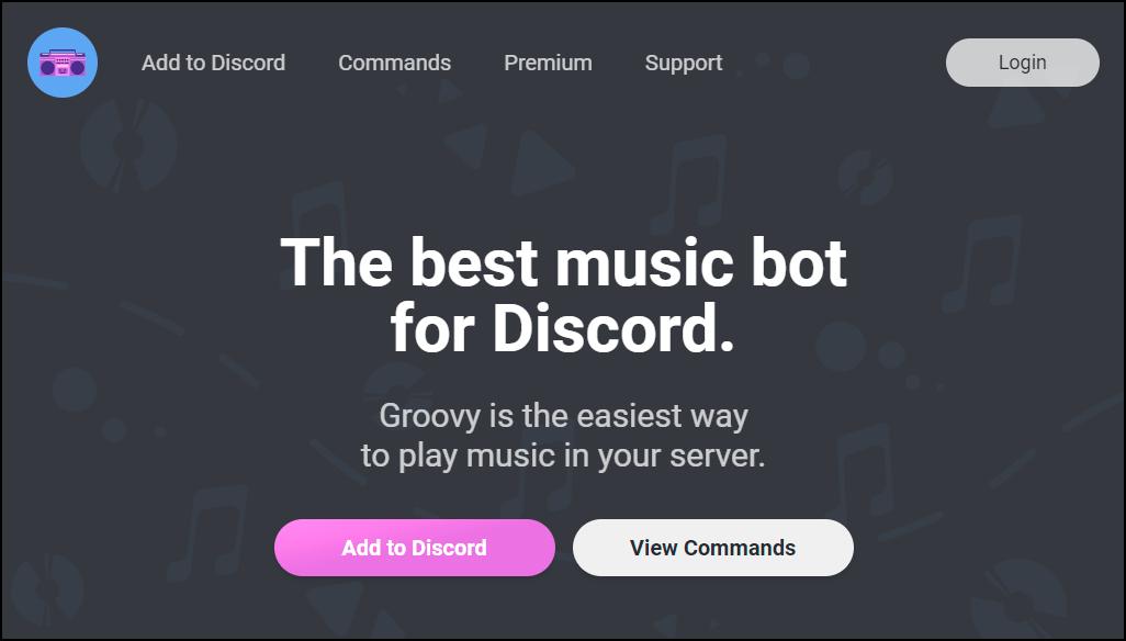groovy music bot mrnoob