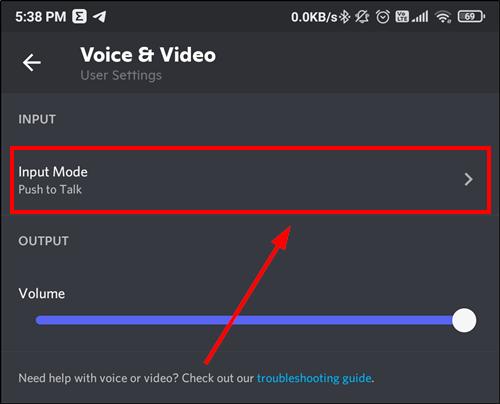 input mode discord mobile mrnoob