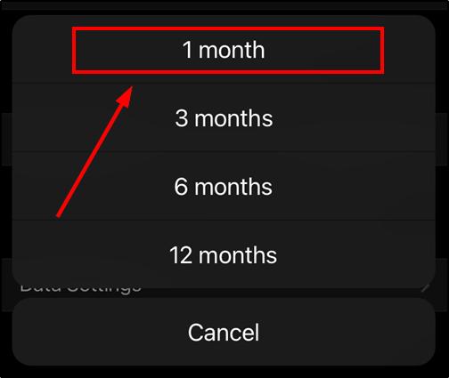 telegram inactivity one month mrnoob