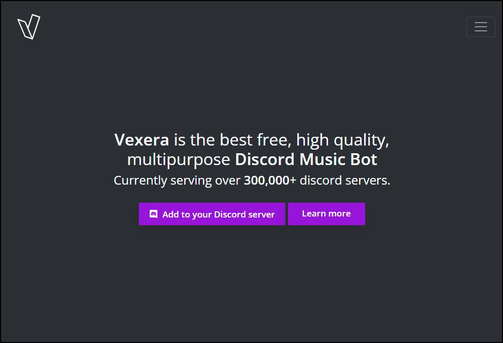 vexera music bot mrnoob