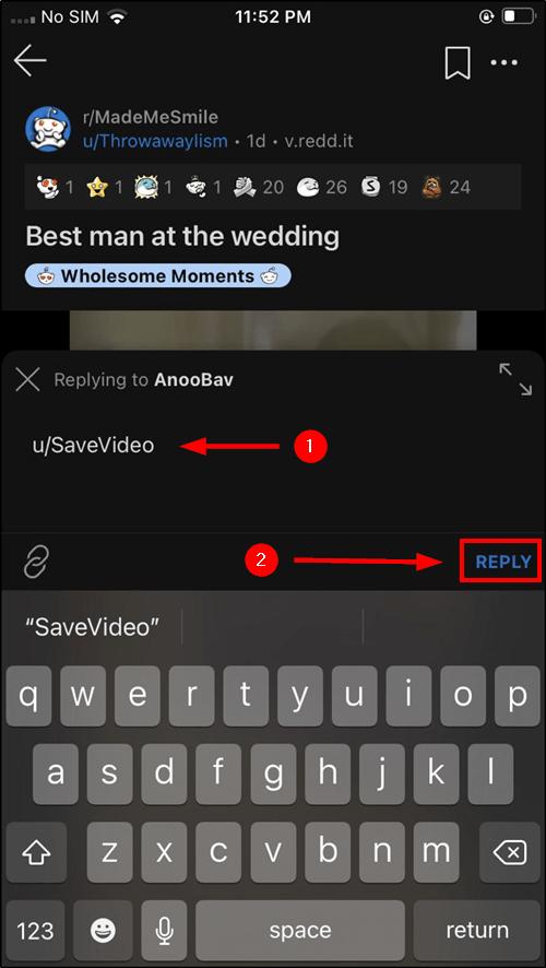 mention reddit video bot ios mrnoob