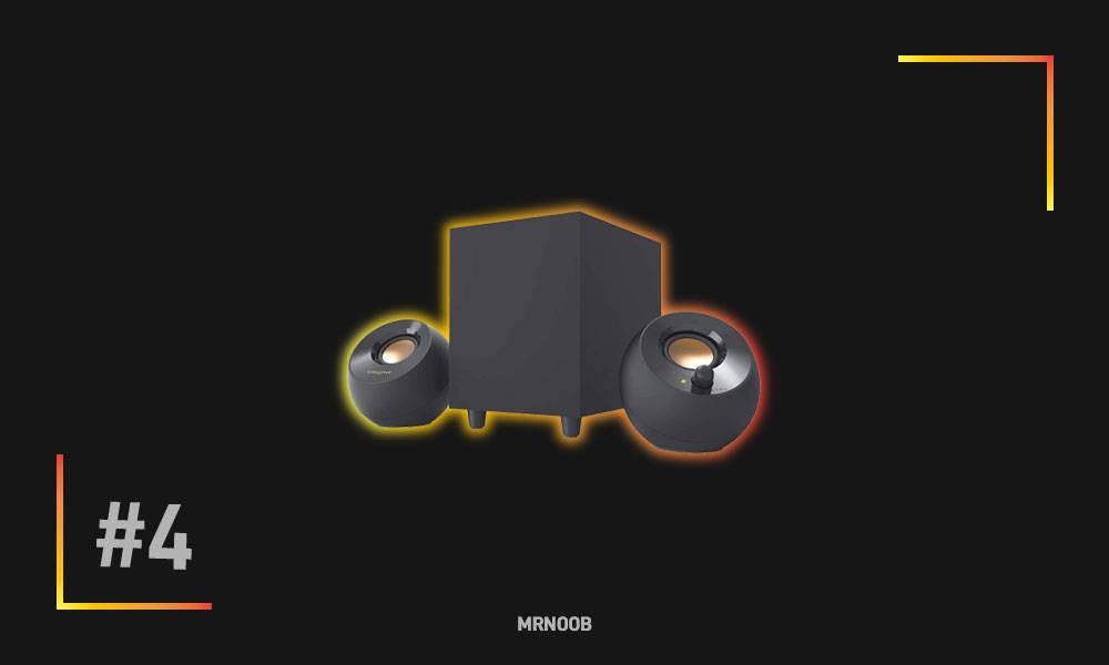 creative pebble plus desktop speaker mrnoob