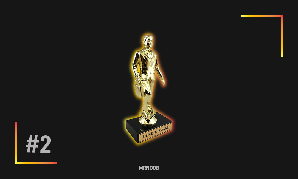 dundy award trophy mrnoob