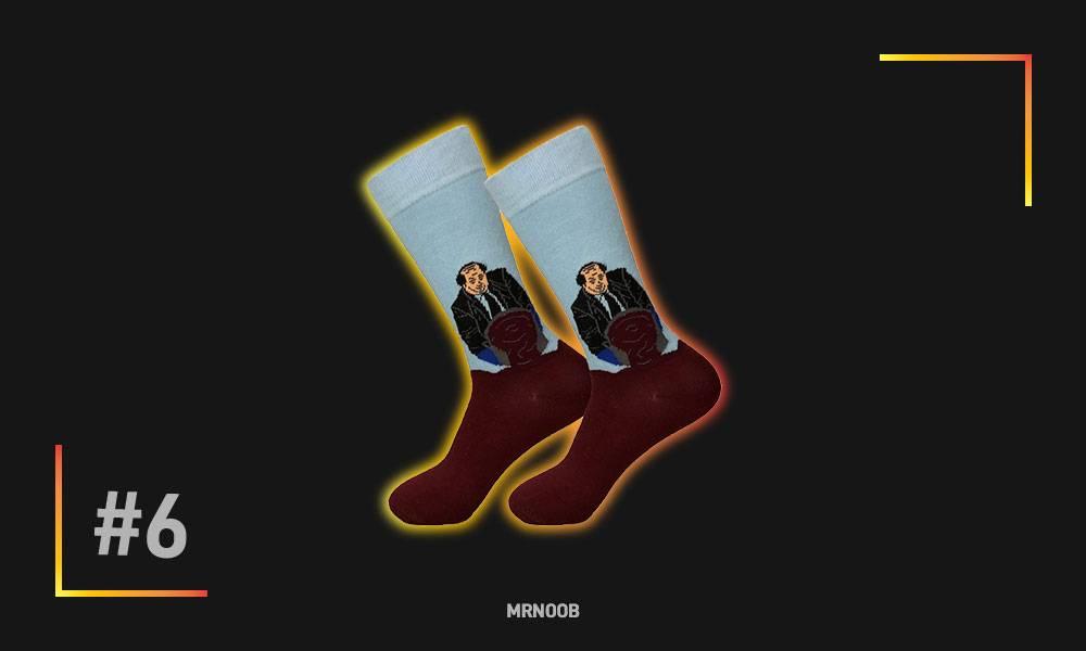 kevin chilli dress socks mrnoob